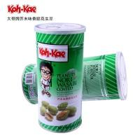 大哥牌 香脆日本芥末花生豆 脆皮花生米鱼皮花生 休闲零食 230g/罐 泰国进口