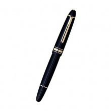 MontBlanc万宝龙 大班Grand系列-签字笔   14.53×1.55×2 深黑色名贵树脂饰镀金
