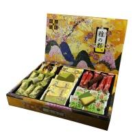 和之礼松泽 寿雅之都饼干礼盒 抹茶夹心饼干+可可巧克力卷 210g 黄色 单只装 日本进口