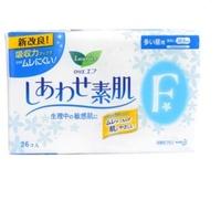 花王 乐而雅F丝薄日用卫生巾 22.5cm*26p 日本进口