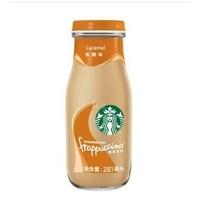 星巴克(STARBUCKS)星冰乐咖啡饮料 焦糖味 281ml