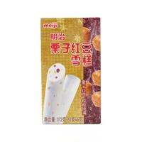 明治 栗子红豆雪糕 62g*6