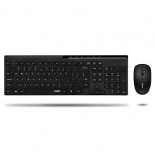 雷柏(Rapoo)X8100 黑色 无线键鼠套装